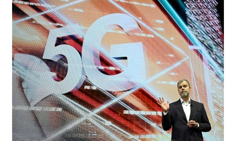 LG senior vice president David VanderWaal discusses 5G at the 2019 Consumer Electronics Show in Las Vegas in January