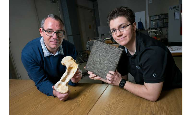 Lightweight metal foams become bone hard and explosion proof after being nanocoated