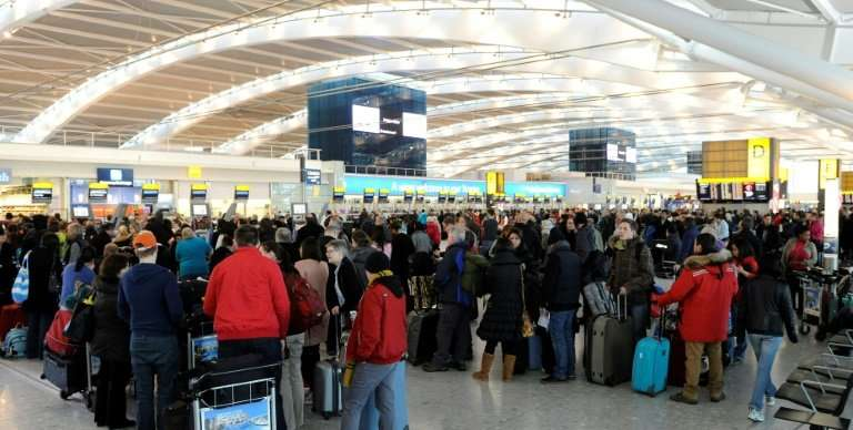 London Heathrow is Europe's busiest airport in terms of passenger numbers
