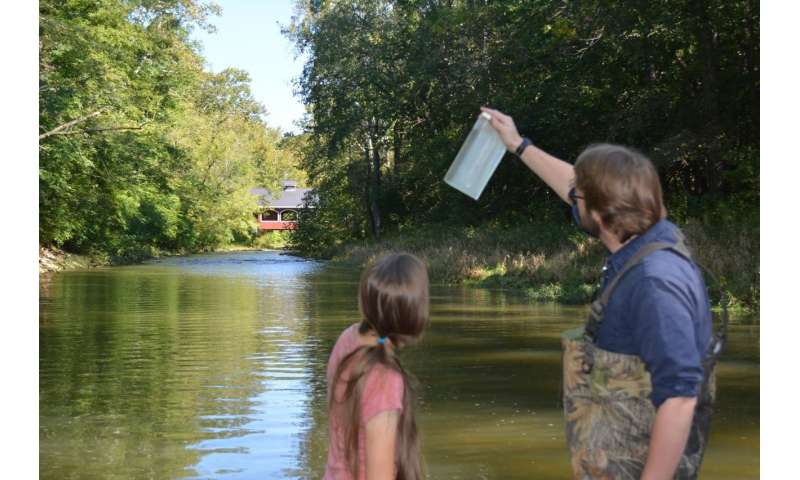 Long term ag change impacts stream water quality