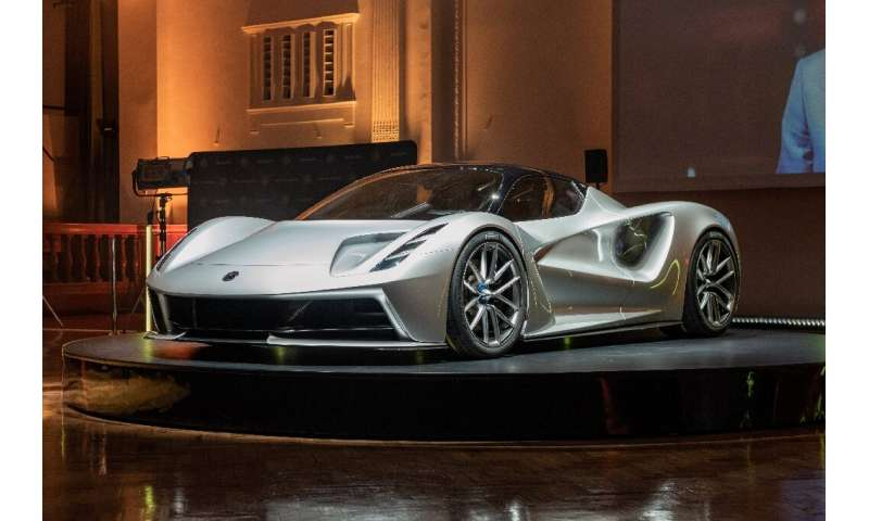 Lotus's new Evija sports car will be all-electric