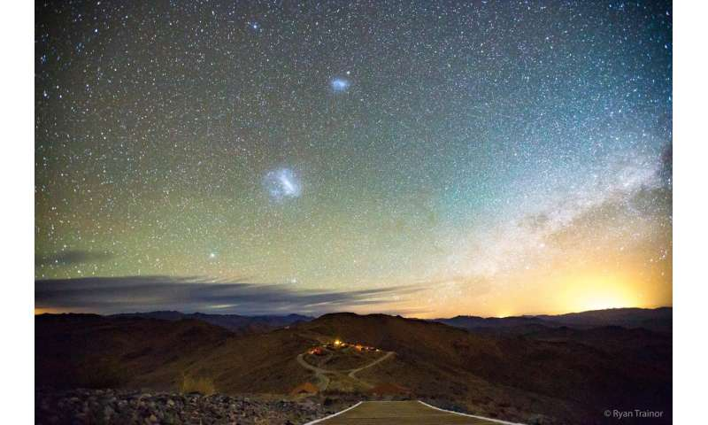 Magellanic Clouds prove it's never too late to get active