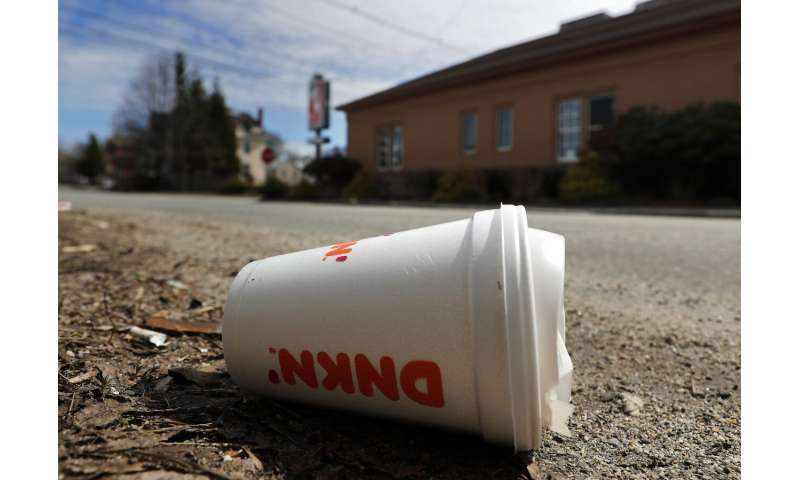 Maine becomes first state to ban single-use foam containers