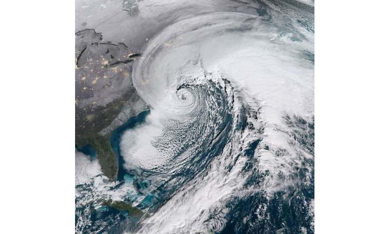 Major northeastern snowstorms expected to continue with climate change