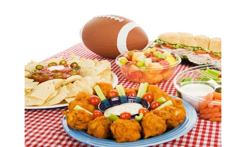 Make a healthy game plan for super bowl partying
