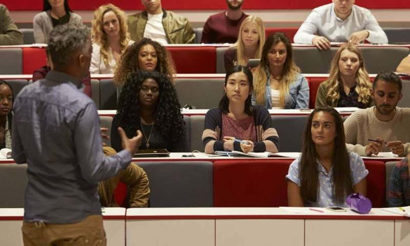 Male teachers are most likely to rate highly in university student feedback