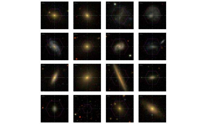 MaNGA data release includes detailed maps of nearby galaxies
