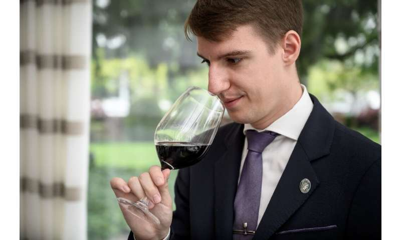 Marc Almert (pictured) won the world's best sommelier competition in March but said that just a decade earlier he had thought th