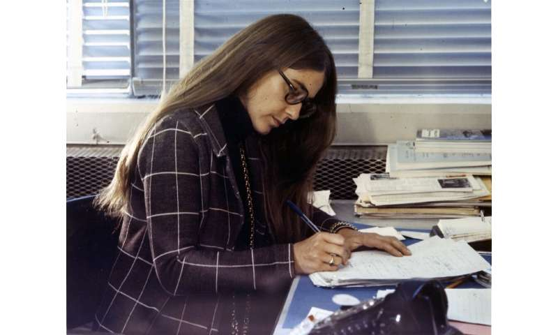 Margaret Hamilton led the team that programmed the Apollo flight computer; their code allowed the machine to give priority to