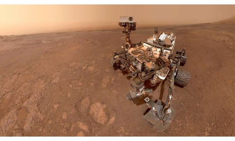 Mars rover Curiosity makes first gravity-measuring traverse on the Red Planet