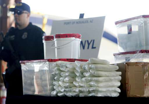 Mexican oxy' pills in US Southwest lift fentanyl death toll