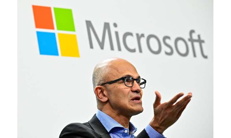 Microsoft CEO Satya Nadella's refocusing of the US technology giant has helped lift its market value to nearly $1 trillion