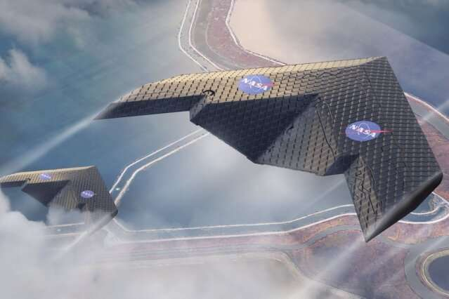 MIT and NASA engineers demonstrate a new kind of airplane wing