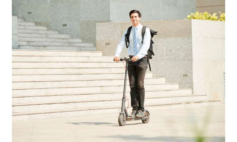 Motorized scooter head injuries on the rise, Rutgers study finds