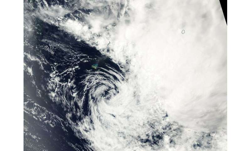 NASA catches the 1-day life of Tropical Cyclone Neil