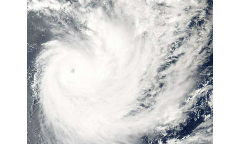 NASA finds a pinhole eye in Tropical Cyclone Funani