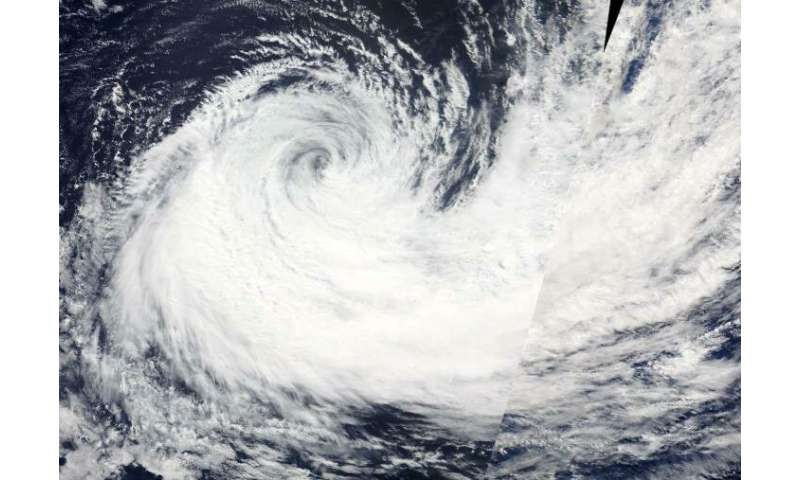 NASA finds wind shear adversely affecting Haleh