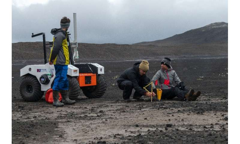 NASA has chosen the Lambahraun lava field at the foot of Iceland's second biggest glacier, Langjokull, as a stand-in for the Red