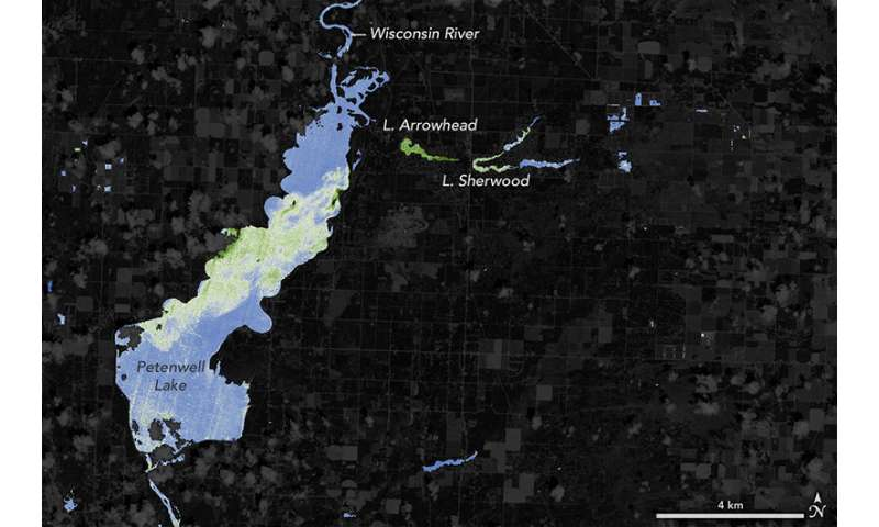 NASA helps warn of harmful algal blooms in lakes, reservoirs
