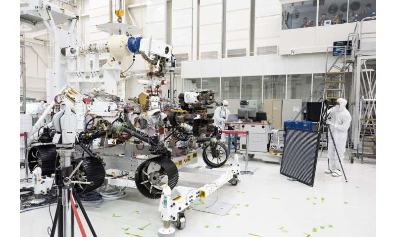NASA 'optometrists' verify Mars 2020 rover's 20/20 vision