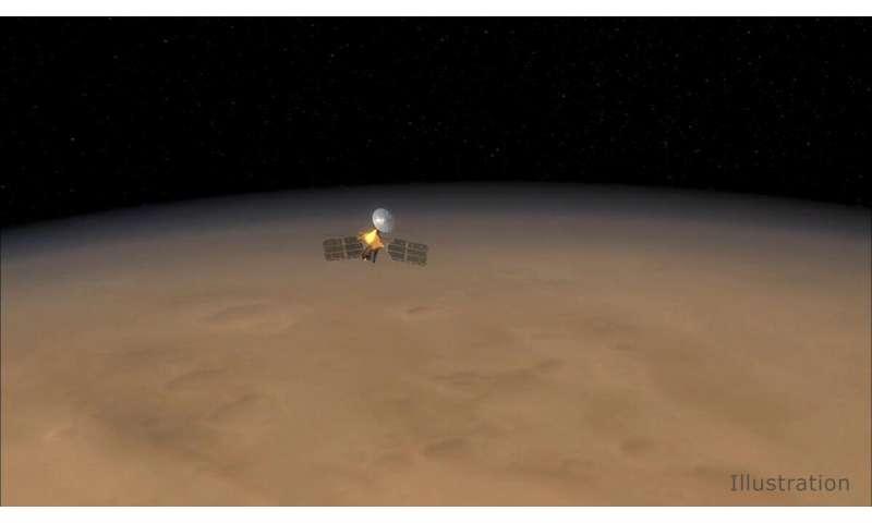NASA's MRO completes 60,000 trips around Mars