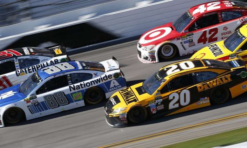 NASCAR may be the fastest way to learn about physics