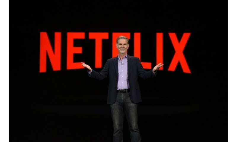 Netflix CEO Reed Hastings is seen in a 2016 photo