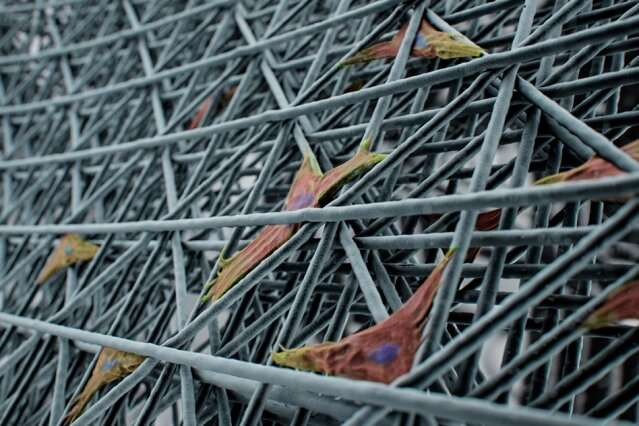 New 3-D printing approach makes cell-scale lattice structures