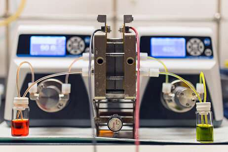 New organic flow battery brings decomposing molecules back to life