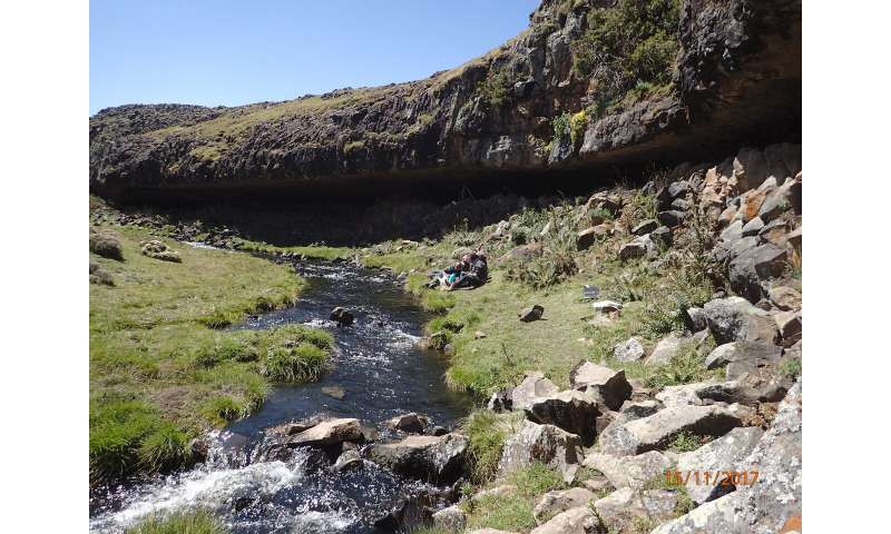 New study in 'Science': Why humans in Africa fled to the mountains during the last ice age
