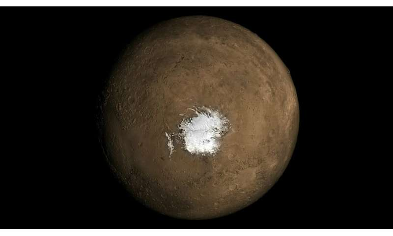 A new study suggests the possibility of a recent underground volcanism on Mars