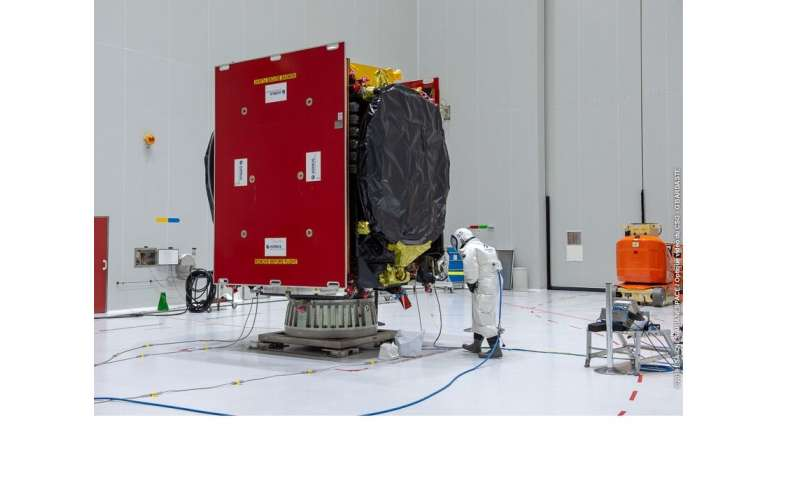 Next satellite in the European Data Relay System is fueled