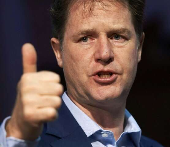 Nick Clegg; a big ticket hire for Facebook