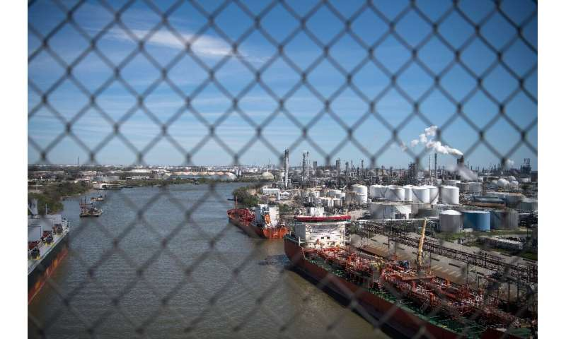 Oil infrastructure in the Port of Houston serves as a reminder of the industry's importance to the local economy