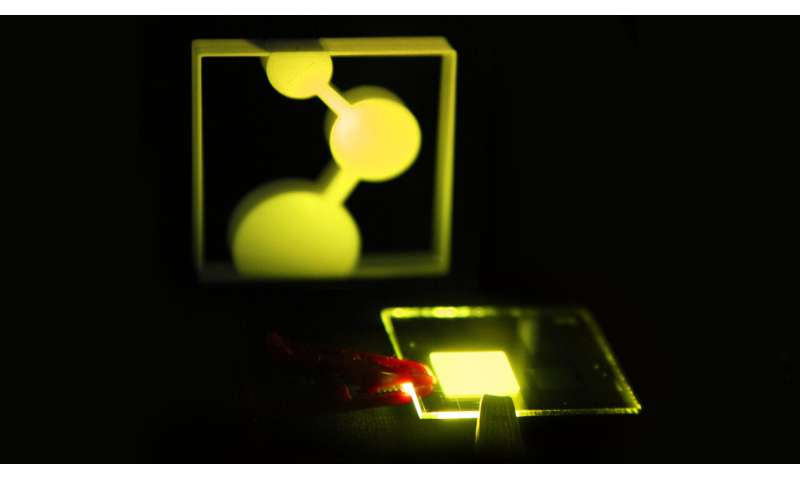 On the way of printable organic electroluminescent diodes