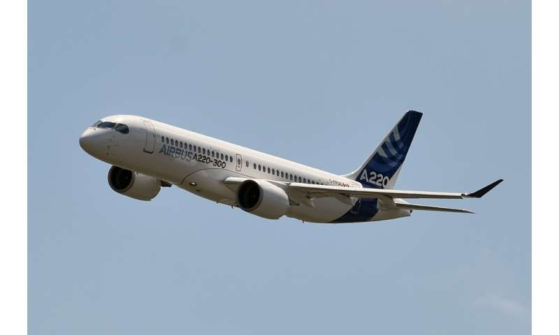 Originally the Bombardier C Series, the rebranded A220-300 helped Airbus fill demand for a slightly smaller medium-range aircraf
