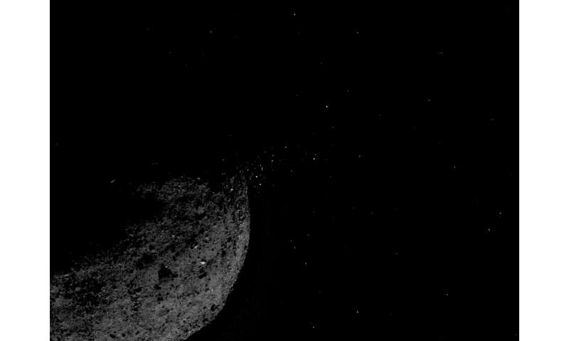 OSIRIS-REx reveals asteroid Bennu has big surprises