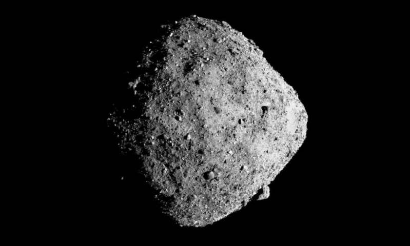 OSIRIS-REx spies on the weird, wild gravity of an asteroid