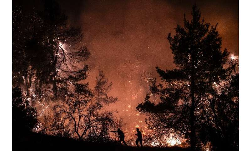 Over 100 people were killed in Greece's worst ever wildfires last year