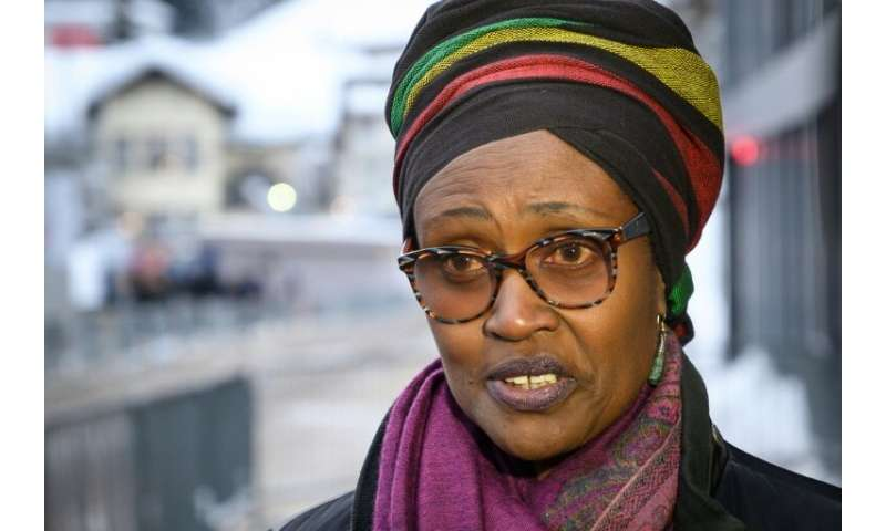 "Oxfam executive director Winnie Byanyima says that ""extreme inequality is out of control"""