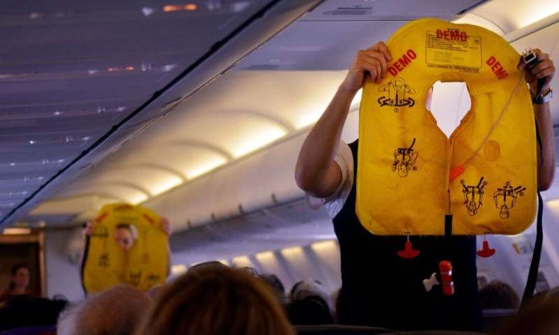 Passenger planes need enough cabin crew to operate all the exits in an emergency