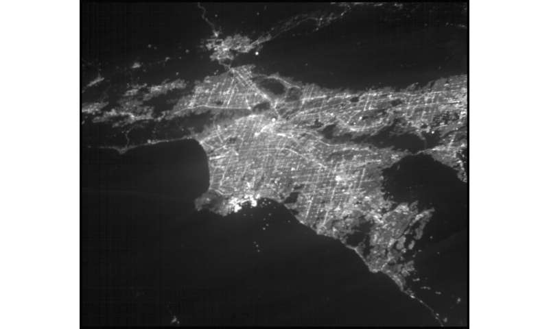 Planet-hunter CubeSat images Los Angeles