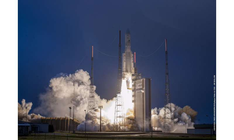 PSI imaging helps with rocket launches