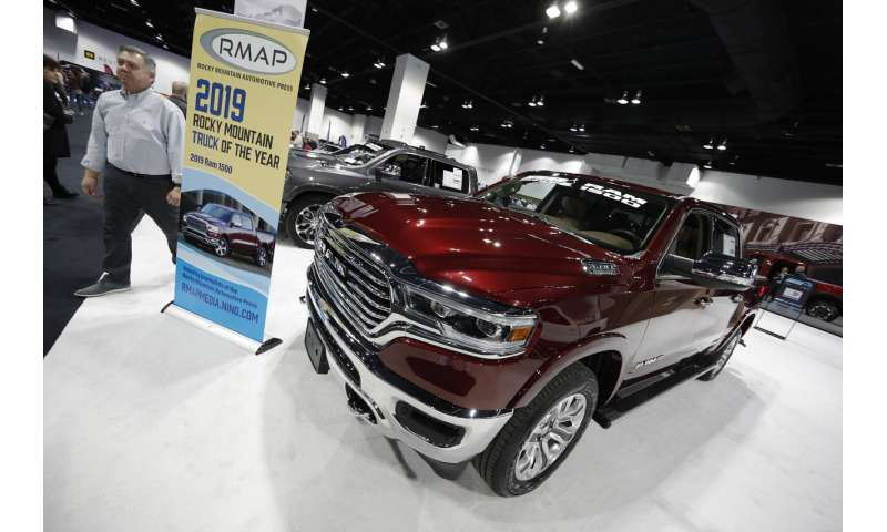 Ram pickups recalled because air bags may not work in crash