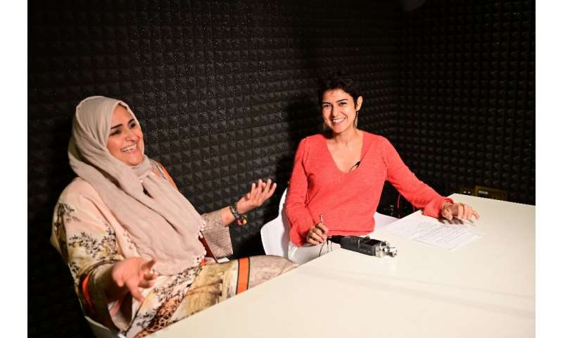 Rana Nawas hosts the English-language podcast 'When Women Win', seeking to tell the stories of successful women from around the