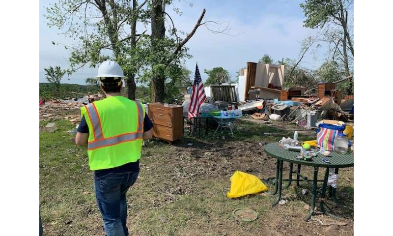 Rapid-response damage assessment gives new insight into recent Kansas tornado