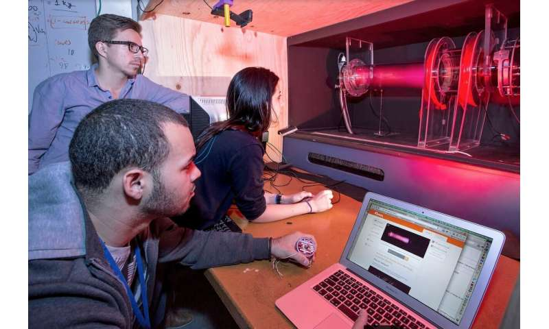 Remote-control plasma physics experiment is named one of top Webcams of 2018