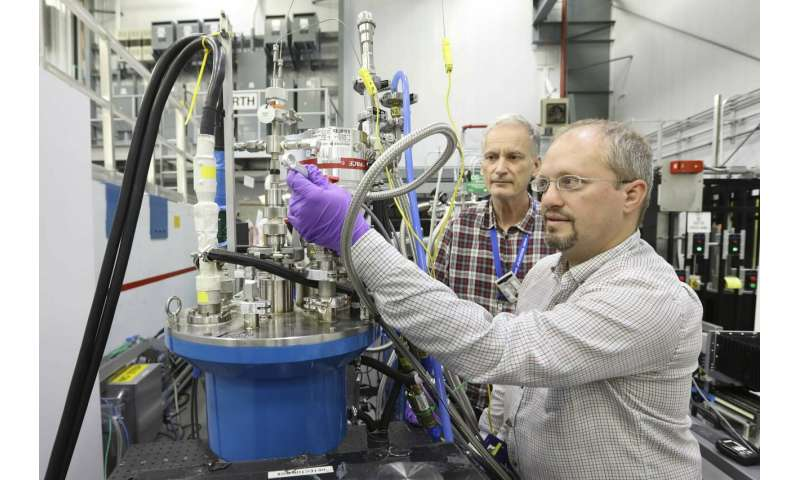Researching cleaner, more efficient bioenergy production using neutrons