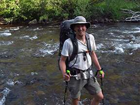 River sediment talks about climate change