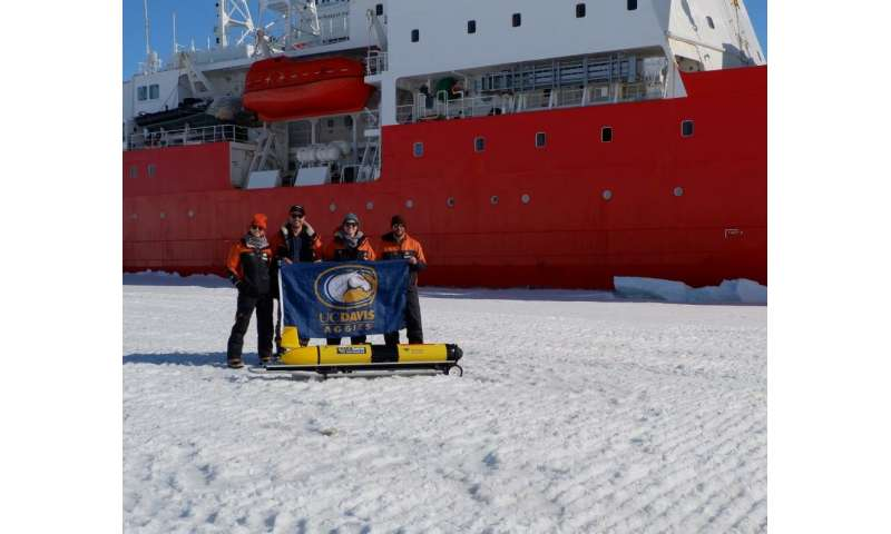 Robotic glider makes first turbulence measurements beneath an Antarctic ice shelf